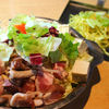 鉄板焼ホルモン鍋なす - 料理写真: