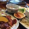 焼肉 平和園 - 料理写真:ジンギスカン定食 ご飯大盛り