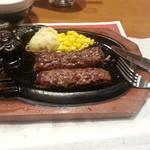 ブロンコビリー - 料理写真:がんこハンバーグ