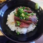 こいけ屋 - 黒毛和牛ステーキ丼
