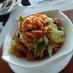 48221041 - 揚げ桜海老と五目野菜入り細麺の焼きそば