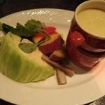 48221327 - 季節野菜のバーニャカウダ―