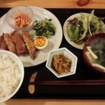 トモキッチン - 2016.2お肉ランチ\900