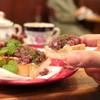 ラ・メール - 料理写真:あんぱん マスカルポーネにのせて '15 12月下旬