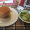 sandwich CLUB HOUSE - 料理写真:海老カツのタルタルバーガーセット