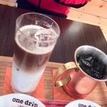 ワンドリップ - カフェオレは特に美味♥♥