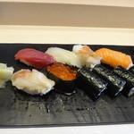寿し翔 - 料理写真:握り寿しランチ1500円