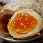 赤ひげラーメン - ラーメン¥700円 + 味玉¥100円