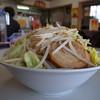 ラーメン利 - 料理写真:二郎風野菜ラーメン(小、ニンニク、野菜マシマシ、2016年3月5日)