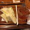 江坂プランタン - 料理写真:モーニング  玉子サンド  480円