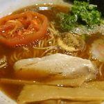 仁麺魚 - 太陽のローストトマトラーメン仁麺魚(岐阜県北方町)食彩品館.jp撮影