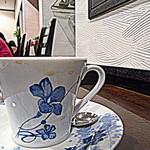 カフェ・パティオ - Cupもお洒落、欧州のブランドもの?