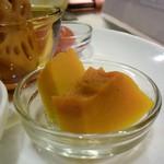 Dining TABI - バニラビーンズで炊いたかぼちゃ、甘い香りが素敵♪