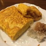 そば処 とう松 - 玉子焼き