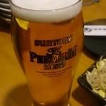 韓まる - グラスビール