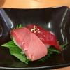 スシロー - 料理写真:「インドマグロ中トロ・漬け」280円(2016年3月)