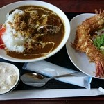 ファミリーレストラン ニューあぶくま - あぶくまカレー(1100円)
