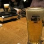 焼肉居酒屋 マルウシミート - 生ビール