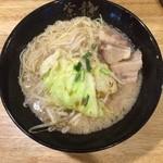 らーめん紫龍 - 紫龍(細麺)