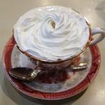 アロマ 珈琲 - ドリンク写真:ウインナーコーヒー