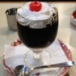 アロマ 珈琲 - 料理写真:コーヒーゼリー