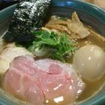 麺処 三鈷峰 - 味玉らーめん 830円