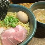 Mendokorosankohou - 料理写真:味玉つけめん 880円