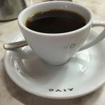 愛養 - コーヒー450円 AIYOの文字が消えかかっていて味に。