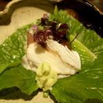 料理屋 仁 - お造り 和歌山産カジキマグロ、焼き鯖(28年3月)