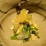 料理屋 仁 - 季節の野菜 蕗味噌(28年3月)