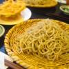 好日庵 - 料理写真:もりそば  670円 と かき揚げ  110円