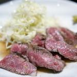 肉蔵でーぶ - 2016.3 特選ハラミステーキ(1,800円)