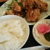 レストランソシオ - 料理写真:1603_レストランソシエ_からあげ定食@1,020円