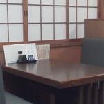 川長 - 店内