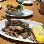 リアナパデッラ - ラム肉ガーリックソテー