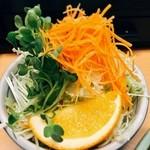 とんかつ人参亭 - サラダ