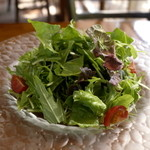 アンジョリーノ - 付け合せのサラダ
