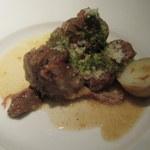 ザ キッチン サルヴァトーレ クオモ - ラム肉のシチリア風煮込み