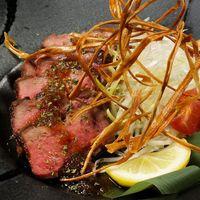 【柚子×肉】厚切り牛タンステーキ