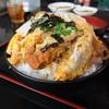 古都 - 料理写真:メンチカツ丼(週替わりサービス品)