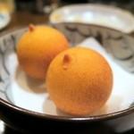 宝泉 - おっぱい…じゃなくて チーズ揚げ¥390(3ケ)