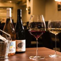 グラスワインは20種類前後、ボトルは200種類前後