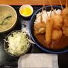 串かつ じゃんじゃん - 料理写真:串かつ屋さんのカツカレー