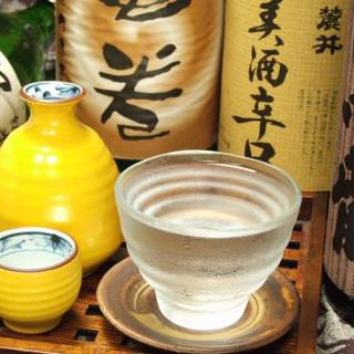 5つ星ワイン・幻の焼酎・限定日本酒も飲める!
