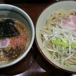 煮干中華そば鈴蘭 - 濃厚海老味噌つけ麺 800円