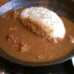 アザブノケムリ - 「牛筋黒糖カレー」アップ