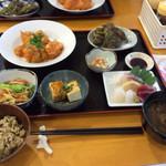 ペンション最南端 - 料理写真:夕食