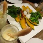 ストラバール - 蒸し野菜盛り合わせ