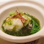 新世界菜館 - 大黒神島産牡蠣のかぶら蒸し