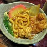 伊賀大正庵 - ふんわりやわらかでむっちり麺なのです。